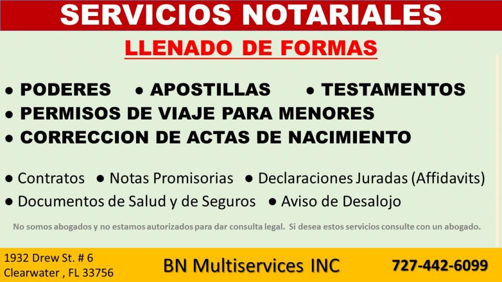 BN Multiservices inc